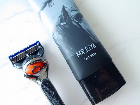 MR.EiYA(ミスターエイヤ)口コミ徹底解説と通販・販売店舗のまとめ フェイスウォッシュレビューシェービング髭剃り画像